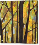 Dreaming Trees 1 Acrylic Print