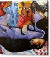 Dreamland Acrylic Print by Charlie Spear