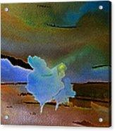 Dreams Of Blue Trees Acrylic Print