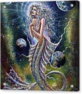 Dreams Of Mermaid Acrylic Print