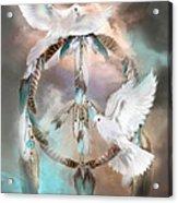 Dreams Of Peace Acrylic Print