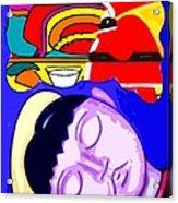 Dreams Of Santa Acrylic Print