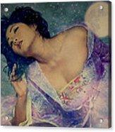 Dreams Of Yang Guifei Acrylic Print
