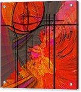 Dreamscape 06 - Tangerine Dream Acrylic Print by Mimulux patricia no No