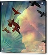 Of Lucid Dreams / Dreamscape 6 Acrylic Print