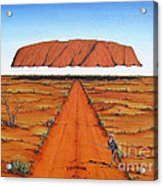 Dreamtime Australia Acrylic Print