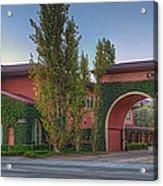 Dreamworks Studio Burbank Glendale Ca Panorama  Acrylic Print