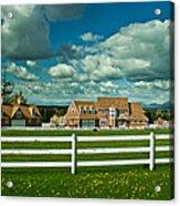 Dreamy Farmhouse Acrylic Print