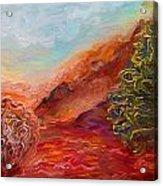 Dreamy Landscape Acrylic Print
