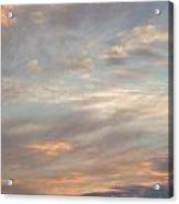 Dreamy Sunset Sky Acrylic Print