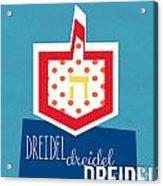 Dreidels Acrylic Print