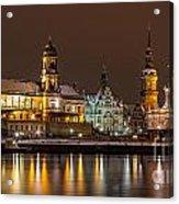 Dresden The Capital Of Saxony I Acrylic Print