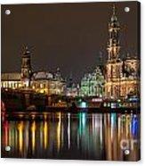 Dresden The Capital Of Saxony II Acrylic Print