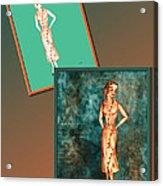 Dress Design 18 Acrylic Print