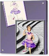 Dress Design 49 Acrylic Print