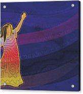 Dress Full Of Prayers Acrylic Print