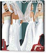 Dress Reversal Acrylic Print