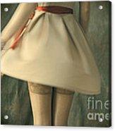 Dress Twirl Acrylic Print by Craig B