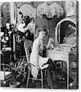 Dressing Room, C1900 Acrylic Print
