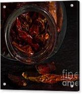 Dried Chilli Acrylic Print