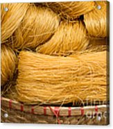 Dried Rice Noodles 04 Acrylic Print