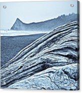 Driftwood At Klamath River  Acrylic Print