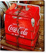 Drink Coke In Bottles Acrylic Print