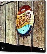 Drink Pepsi Cola Acrylic Print by Ron Regalado