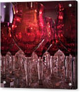 Drink Red Acrylic Print