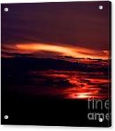 Drive-by Sunset Acrylic Print