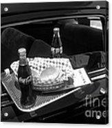 Drive-in Coke And Burgers Acrylic Print