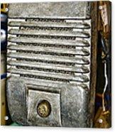 Drive In Movie Speaker Acrylic Print by Paul Ward