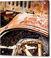 Drive The Tires Off Acrylic Print