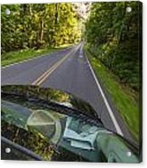 Drive To Vacation Acrylic Print