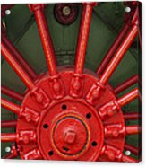 Drive Wheel Acrylic Print