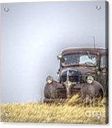 A Rusty Abandoned Truck Near Sturgis South Dakota Acrylic Print