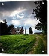 Driveway Home Acrylic Print by Cale Best