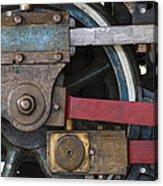 Drivin' Wheel Acrylic Print