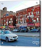 Driving Through Chinatown Acrylic Print