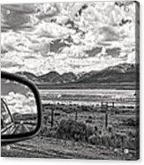 Driving Through Colorado Acrylic Print