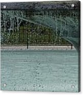 Drops In The Fountain Acrylic Print