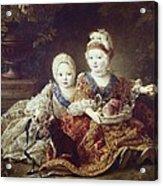 Drouais, Fran�ois Hubert 1727-1775. The Acrylic Print