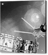 Drum And Sun Acrylic Print