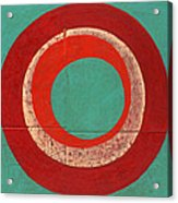 Drunk Circles Five Acrylic Print