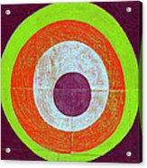 Drunk Circles Seven Acrylic Print