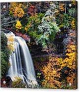 Dry Falls In Autumn Acrylic Print