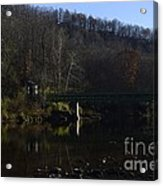 Dry Fork At Jenningston Acrylic Print by Randy Bodkins
