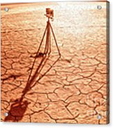 Dry Lake Photography Acrylic Print
