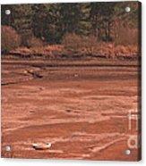 Dry Reservoir  Acrylic Print