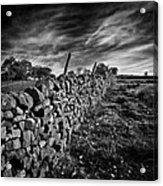 Dry Stone Walls Acrylic Print